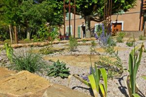 Jardin la Bourrasque à Saint Cyr sur mer